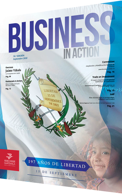 Revista business in action septiembre 2018